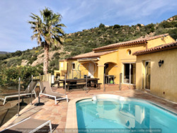 Villa with heated pool and panoramic view