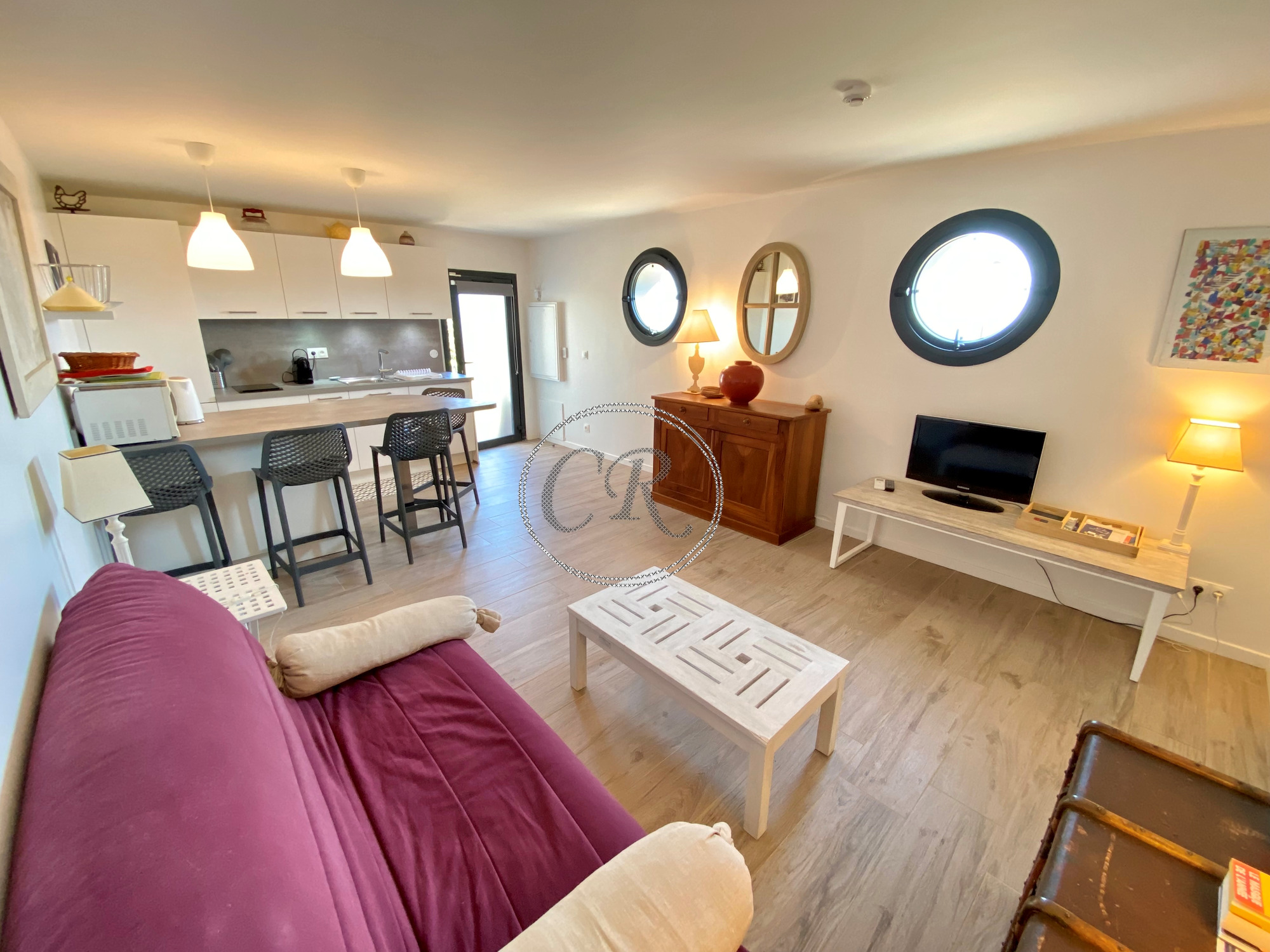 Appartement T2 de standing - 800 m de la plage de ST CLAIR
