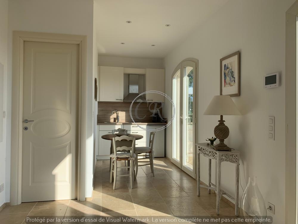 Petite maison T2 avec vue mer - Aiguebelle Le Lavandou