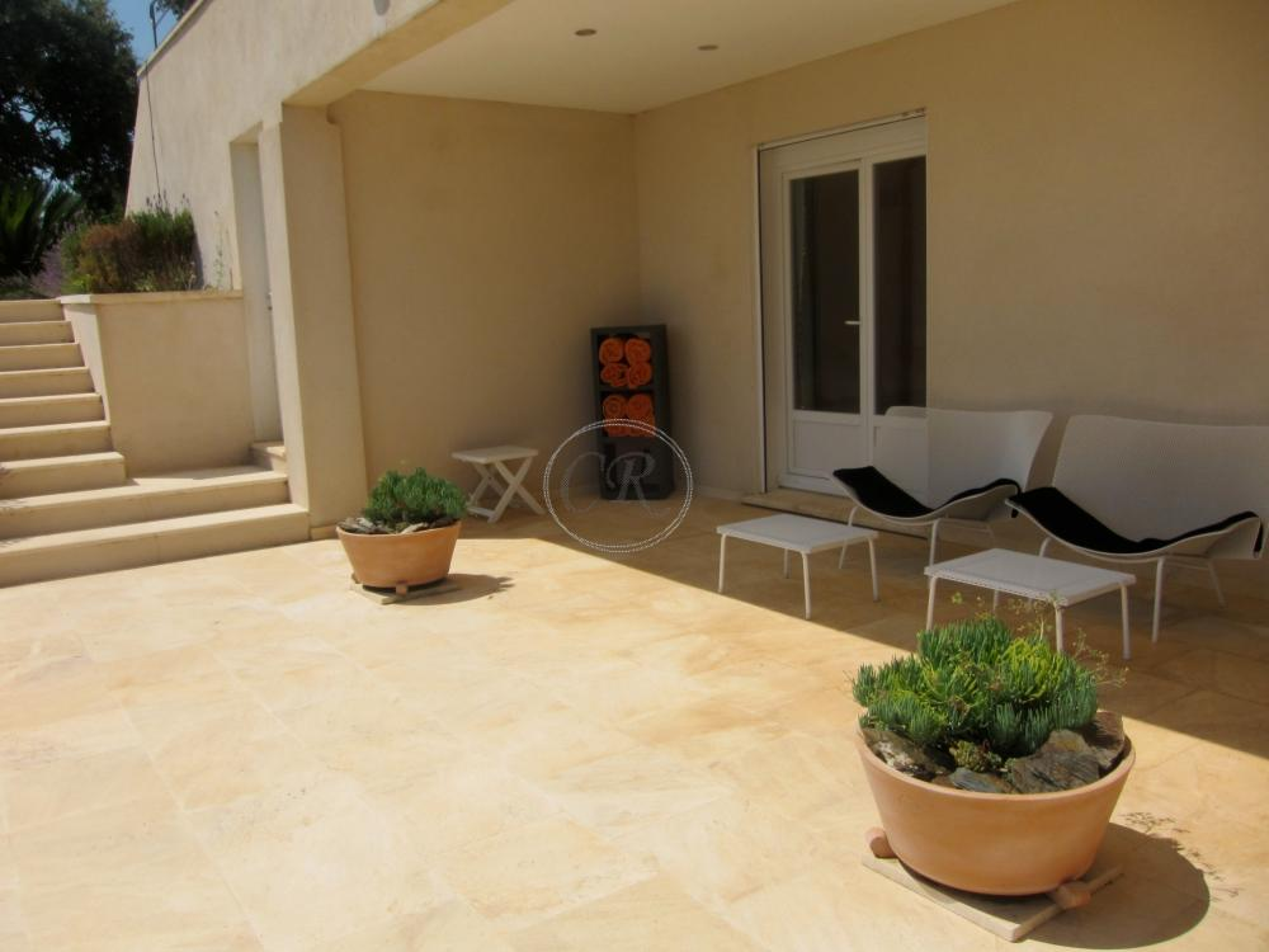 Luxueuse villa contemporaine,  vue mer panoramique
