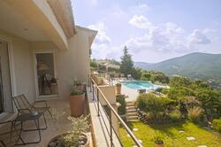 Luxurious contemporary villa, heated swimming pool, sea view